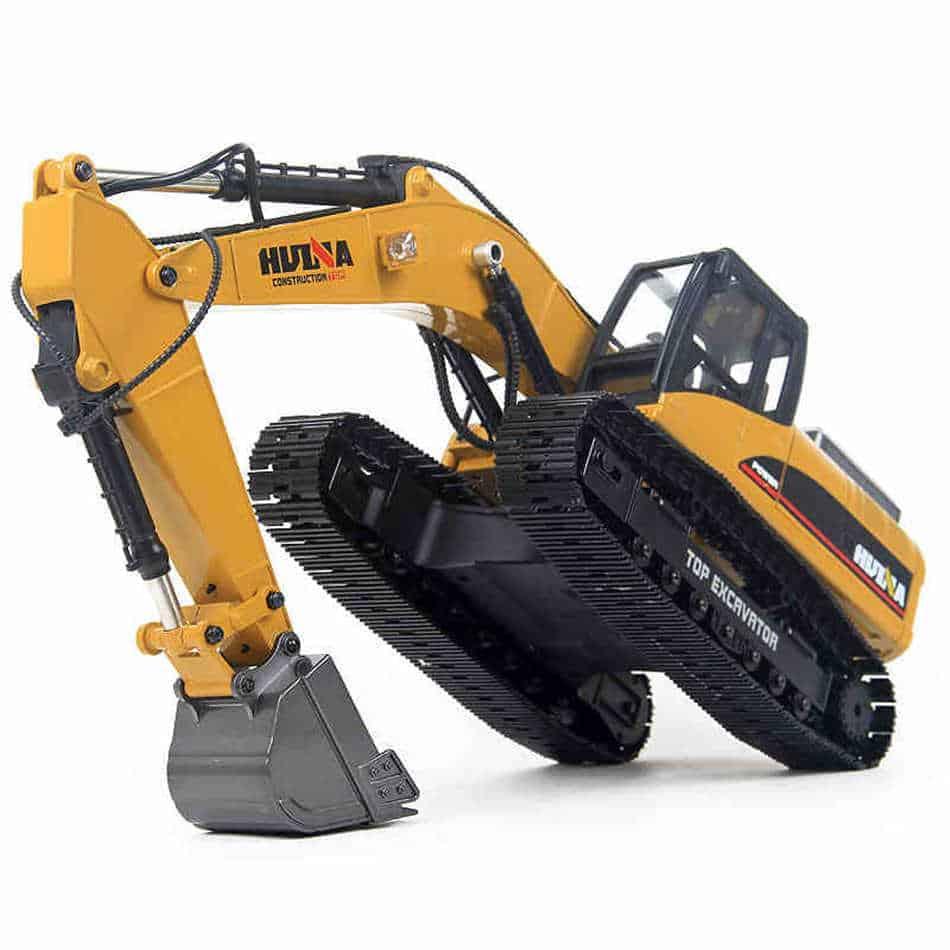 huina full metal 580 rc excavator