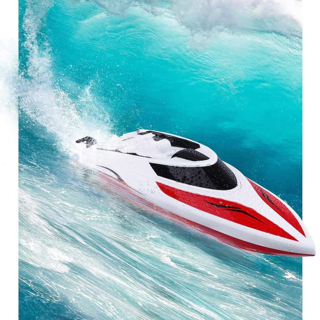 intey rc racing boat 17 inches