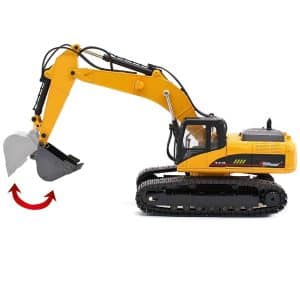 top race 23 channel remote control excavator