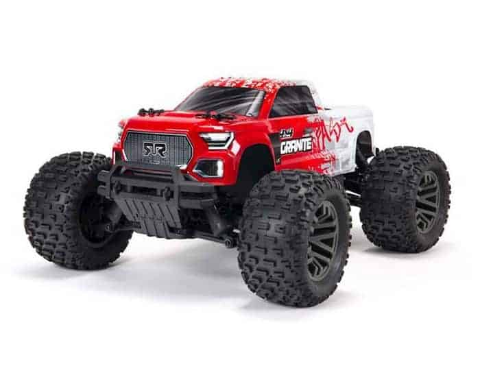 ARRMA 1 10 GRANITE 4X4 3S BLX Brushless 4WD RC Monster Truck