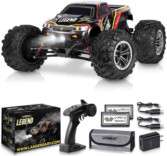 LAEGENDARY 1 10 Scale Large RC Cars 48+ kmh Speed