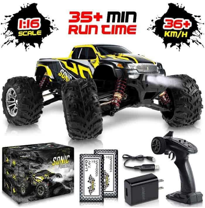 1 16 Scale Large RC Cars Boys 4x4 Monster Truck Electric