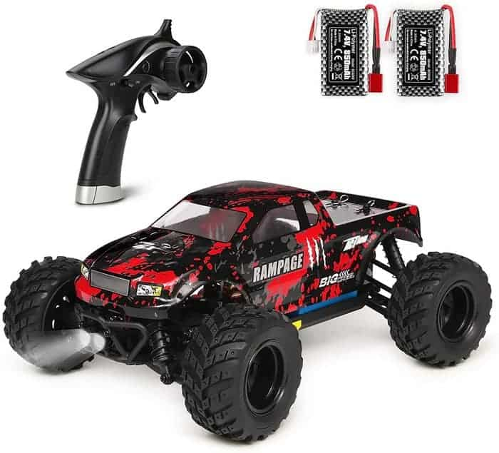 HAIBOXING 1 18 Scale All Terrain RC Car 18859E, 36 KPH High Speed 4WD Electric Vehicle