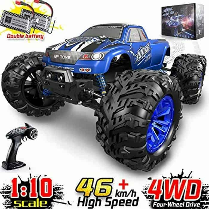Soyee RC Cars 1 10 Scale RTR 46kmph High Speed Remote Control Car All Terrain Hobby Grade 4WD