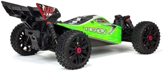 ARRMA 1 8 TYPHON Mega 4x4 RC Speed Buggy 4WD RTR with 2.4Ghz Spektrum Radio,