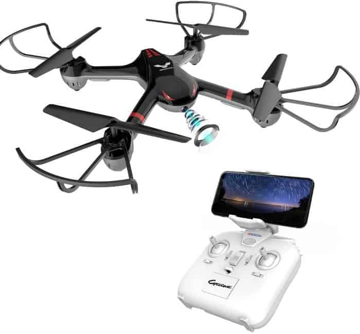 DROCON Drone for Beginners X708W Wi-Fi FPV Training Quadcopter with HD Camera Equipped with Headless Mode