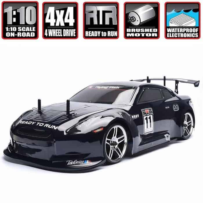 HSP 1 10 Scale Large RC Car 35+ kmh Speed Remote Control Car 4WD
