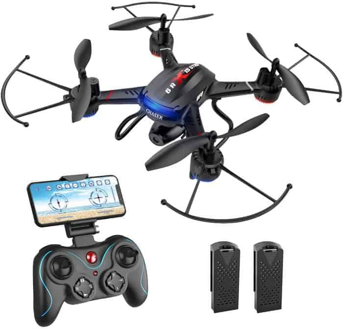 Holy Stone HS110D FPV RC Drone with 1080P HD Camera Live Video 120°Wide-Angle WiFi Quadcopter with Gravity Sensor,