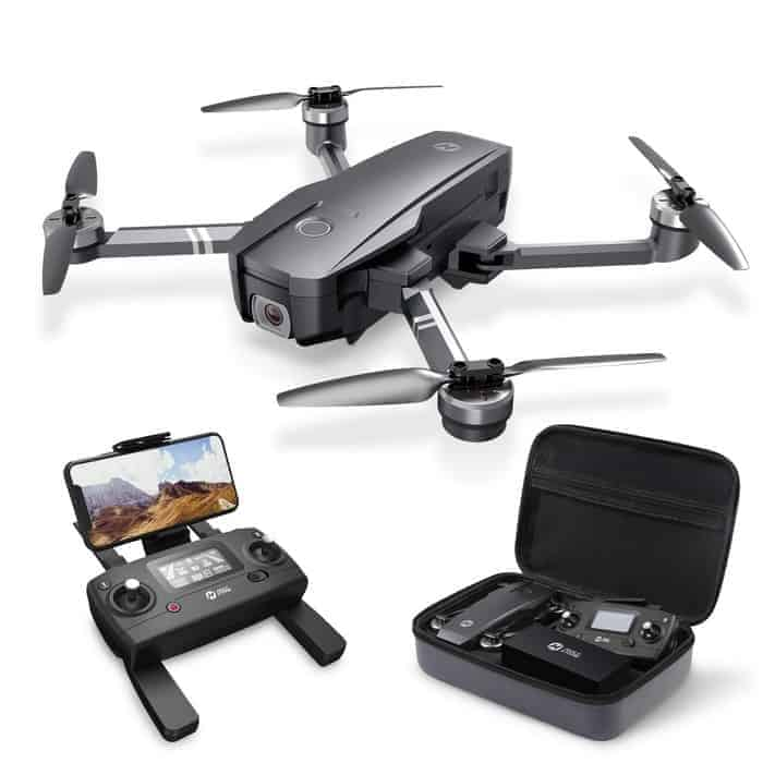 Holy Stone HS120D GPS Drone with Camera for Adults 2K UHD FPV, Quadcotper with Auto Return Home, Follow Me,