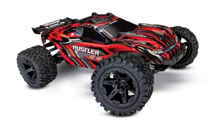 Traxxas Rustler 4x4, 4x4 RC Truck, 1 10 Scale