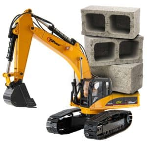 Top Race tr 211m 23 Channel Hobby Remote Control Excavator weight carrying