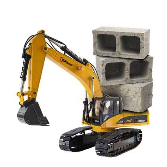 Top Race tr 211m 23 channel excavator can carry 180 lbs