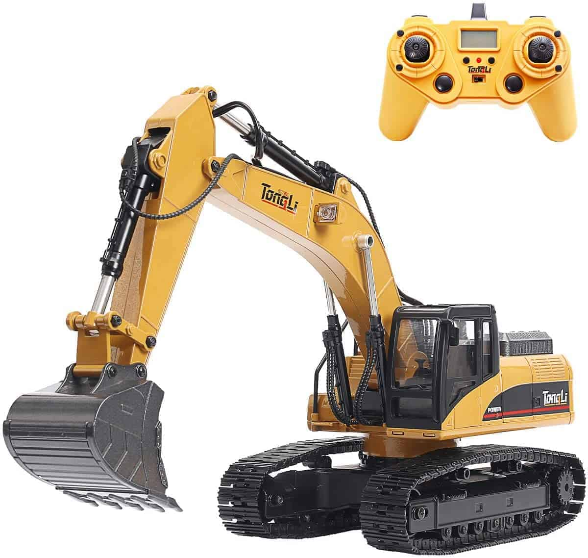TongLi 1580 1 14 Scale All Metal RC Excavator Toy for Adults