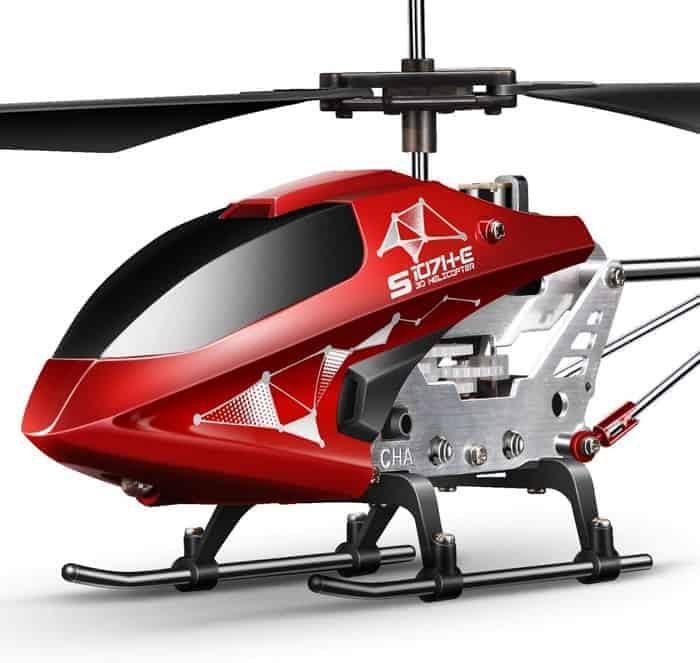 Syma Remote Control Helicopter, S107H-E Aircraft with Altitude Hold, One Key take Off Landing, 3.5 Channel, Gyro Stabilizer and High &Low Speed,