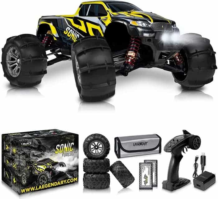 1 16 Scale Large RC Cars 4x4 Off Road Monster Truck