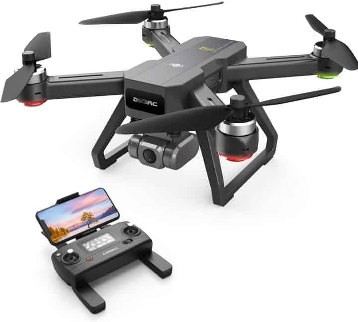 DEERC D15 GPS Drone with 4K UHD EIS