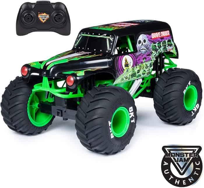 Monster Jam, Official Mega Grave Digger Monster Truck with Lights